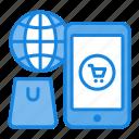 commerce, e-commerce, market, mobile, online, shopping icon icon