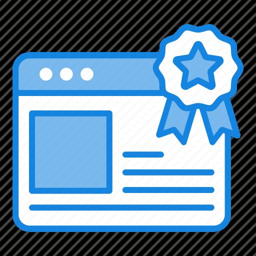 ranking, seo, web, website icon icon