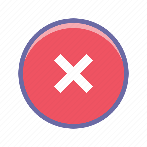 cancel, circle, close, remove icon