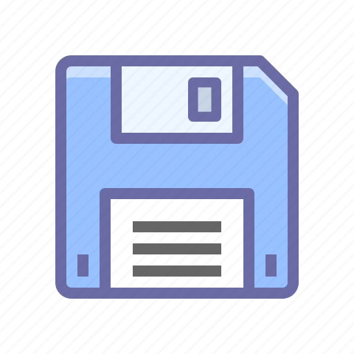 disk, diskette, save icon