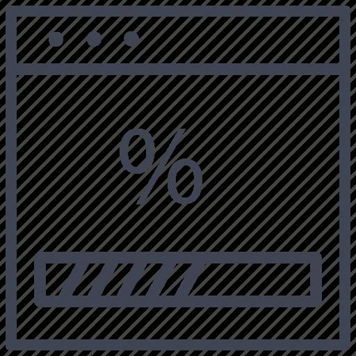 design, layout, loading, percentage, ui icon