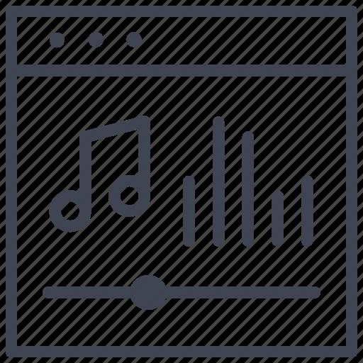 design, layout, music, sound, ui icon