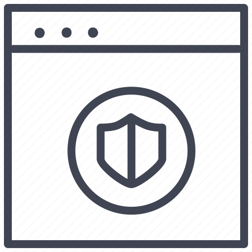 design, layout, protection, security, shield, ui icon
