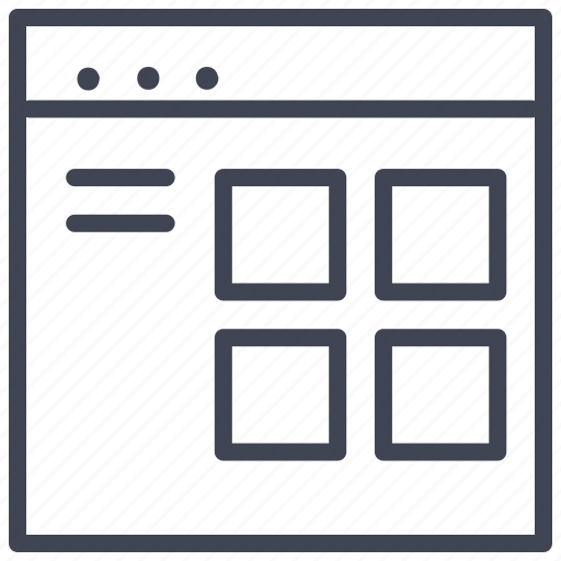 design, layout, starter, ui icon