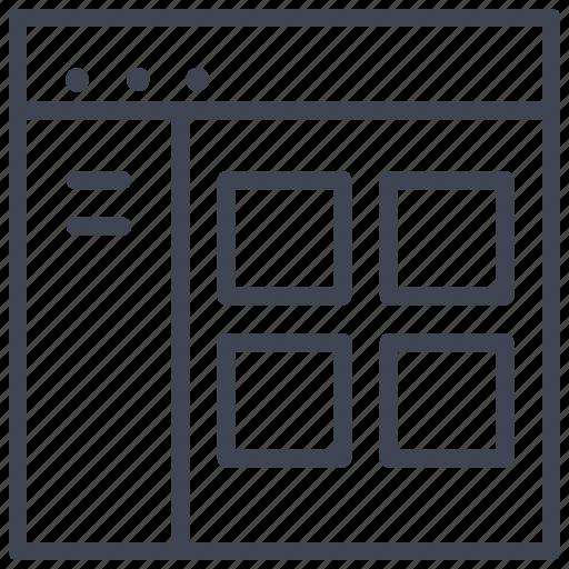 design, layout, starter, tab, ui icon