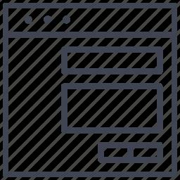 align, design, layout, signature, text, title, ui icon
