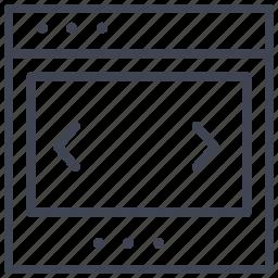 design, layout, pointers, shuffle, through, ui icon