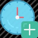 add, alarm timer, clock, new, ui development