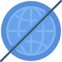 access, available, internet, no, online, restricted, ui development icon