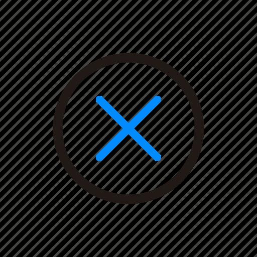 close, delete, trash, x icon