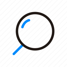 find, internet, look, magnifier, search, view, zoom icon