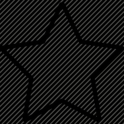 favorite, like, space, star, ui development icon