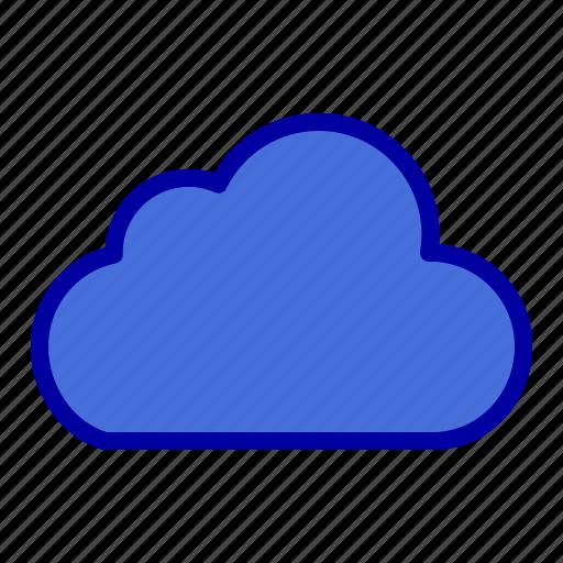 cloud, cloudy, data, storage icon