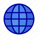 globe, ineternet, map, world icon