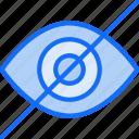 eye, hidden, hide, secure, see, ui development, view