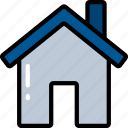 building, essentials, home, house, ui development icon