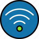 access, internet, online, ui development, wifi icon
