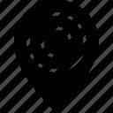 destination, geography, location, pin, ui development icon
