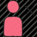 avatar, delete, profile, remove, ui development, user icon