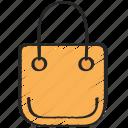 bag, ecommerce, purchase, shopping, ui development icon