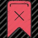 delete, remove, ui development, undo, unsaved icon