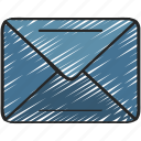 email, letter, mail, send, ui development icon