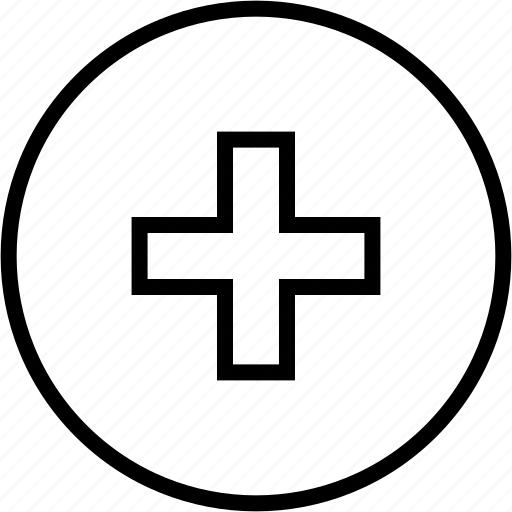 action, add, circle, create, plus icon
