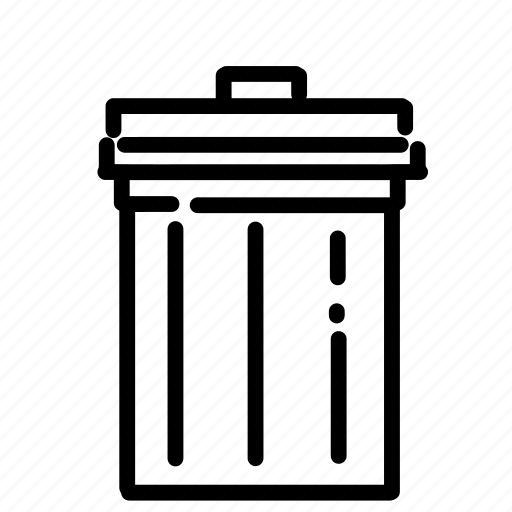 android, app, can, delete, garbage, phone, trash icon