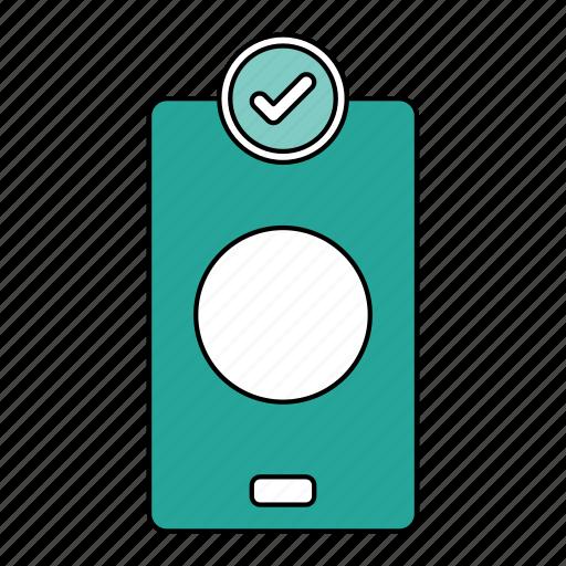 app, correct, done, task icon