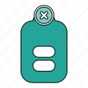 battery, charge, low, power icon