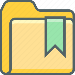 bookmark, document, documents, file, folder, like, love icon