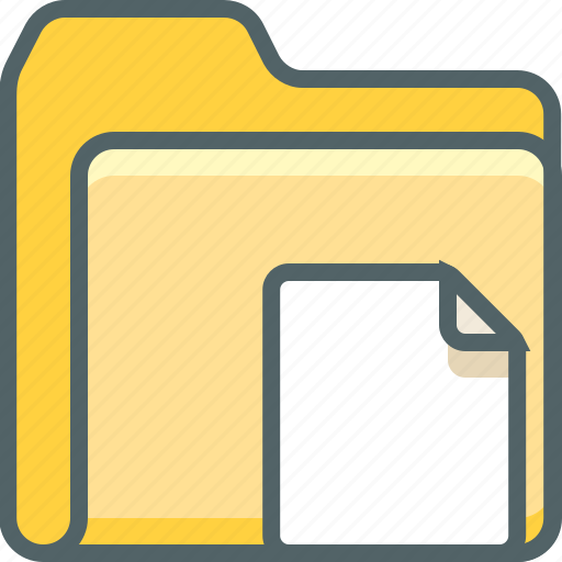 document, file, folder, page, paper, sheet, text icon