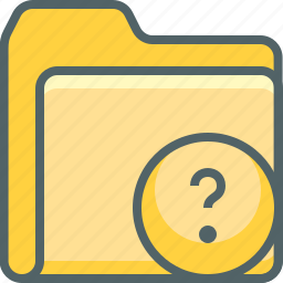 document, file, folder, help, information, question, service icon