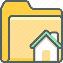 building, document, estate, file, folder, home, house icon