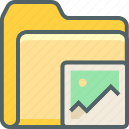 camera, document, file, folder, image, photo, picture icon