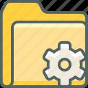 folder, setting, cog, document, file, options, preferences