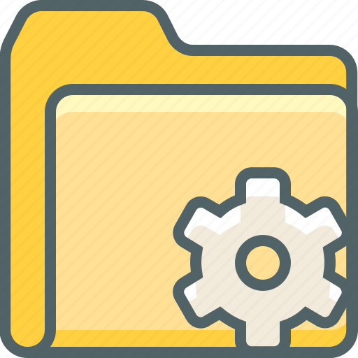 cog, document, file, folder, options, preferences, setting icon
