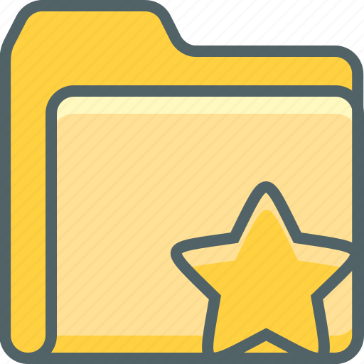 bookmark, document, favorite, file, folder, like, star icon