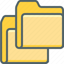 data, document, documents, file, folder, storage, two icon