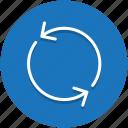 restart, ui icon, cleaning, refresh