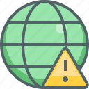 caution, global, alert, danger, international, network, warning