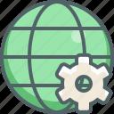global, setting, configuration, international, network, options, preferences