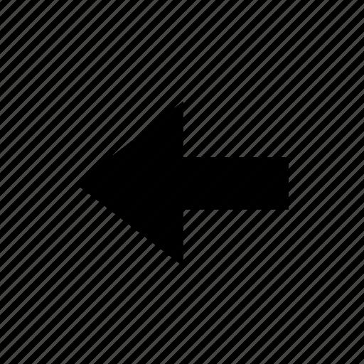 arrow, direction, right, single, ui, way icon