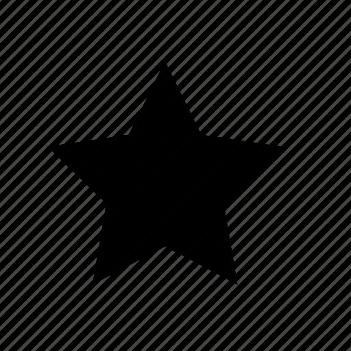 bookmark, fevourite, single, star, ui icon