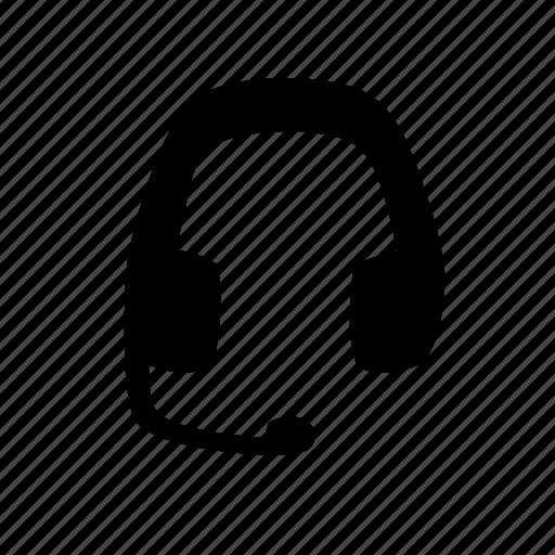 communication, gaming, headset, internet, single, skype, ui icon
