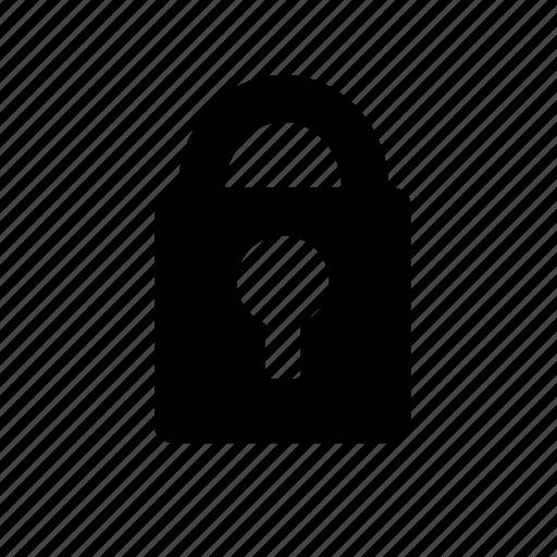lock, padlock, privacy, protection, security, single, ui icon