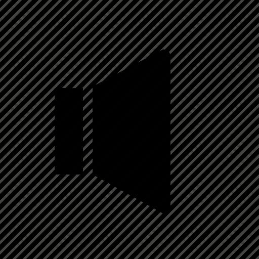 audio, single, sound, speaker, ui, volume icon