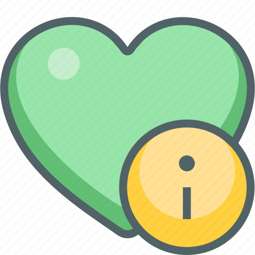 favorite, heart, help, info, infomation, information, support icon
