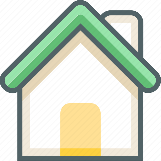 building, business, company, estate, home, house, office icon