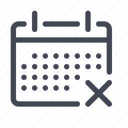 calendar, date, interface icon